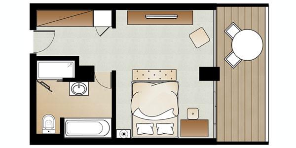 Amirandes Superior Guestroom