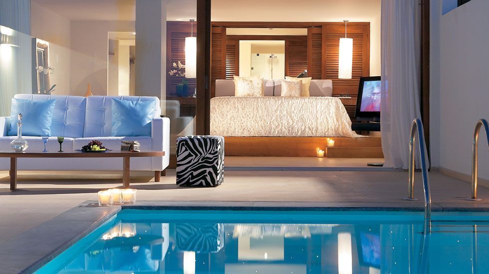 Vip 2 bedroom suite amirandes luxury hotel crete Two bedroom hotels in chicago
