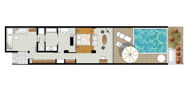 Amirandes VIP 2-Bedroom Suite