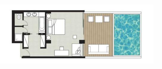 Deluxe Junior Bungalow Suite Amirandes Luxury Hotel Crete