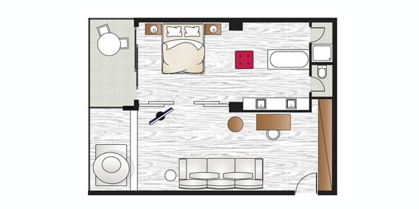 Luxury One Bedroom Suite Amirandes Luxury Hotel Crete