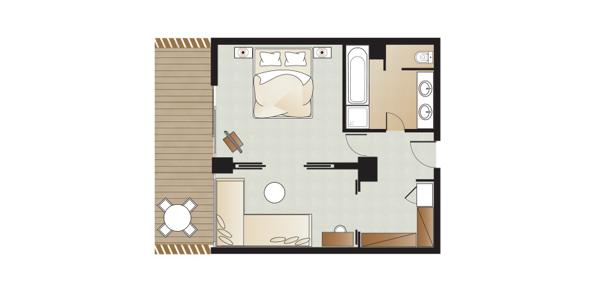 floorplan-of-amirandes-luxury-family-suite-in-crete