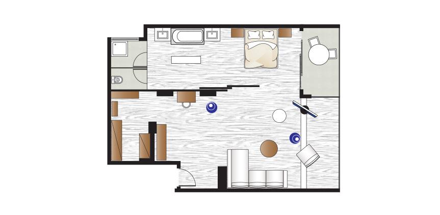 amirandes-one-besroom-grand-suite-floorplan