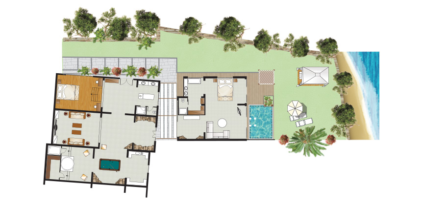amirandes-royal-residence-with-private-heated-pool-floorplan