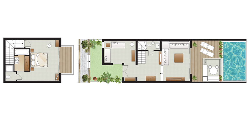 Amirandes-2-Bedroom-Dream-Villa-Couryard-Floorplan