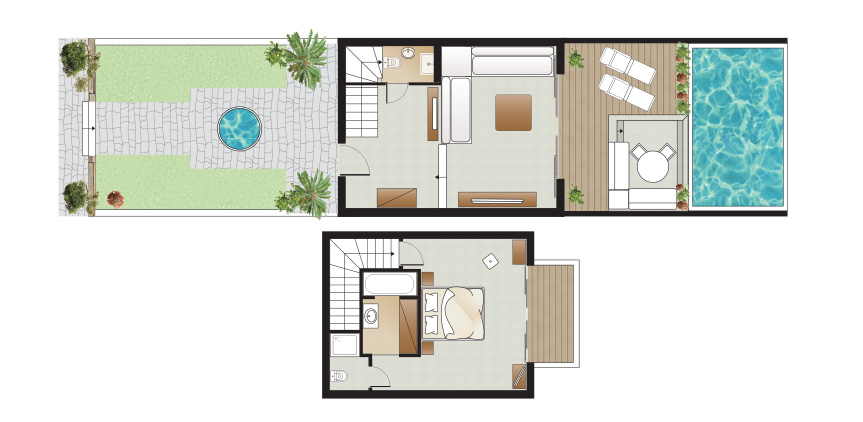 amirandes-2-bedroom-dream-villa-with-private-heated-pool-floorplan