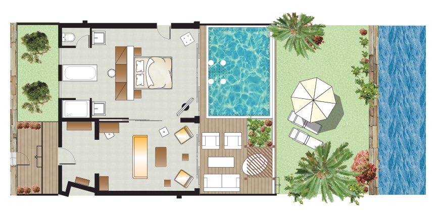 amirandes-junior-presidential-villa-with-private-heated-pool-floorplan