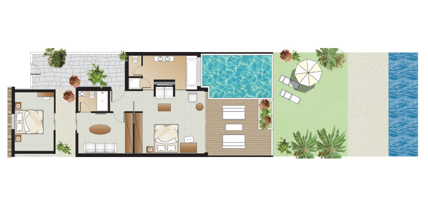 amirandes-luxury-beach-villa-2-bedroom-private-heated-pool-floorplan