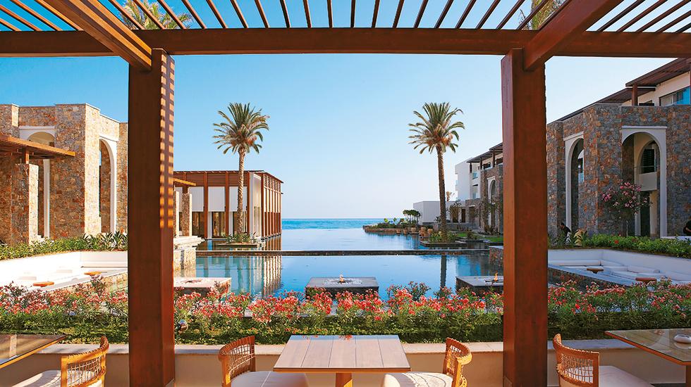 Photo gallery of amirandes exclusive resort the hotel for Design hotel crete